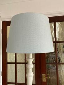 Laura Ashley wooden standard lamp.
