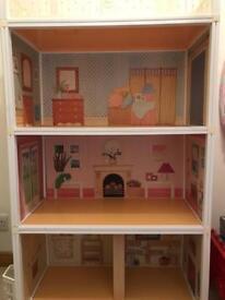 Vintage sindy dolls house,