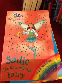Rainbow Magic Sadie the Saxophone Fairy Book