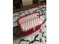 Cath Kidston Sewing Basket - very good condition