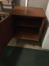 Wooden cupboard/bedside table