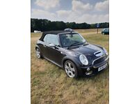 Mini cooper s convertible black 76000 miles