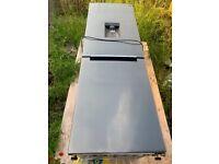 Samsung silver fridge freezer for sale