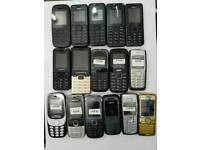 Brand New Nokia 105-108-1112-6230-6300-2730 Unlocked Open To All Networks