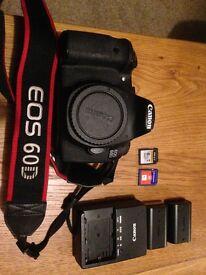 Canon 60D + accessories