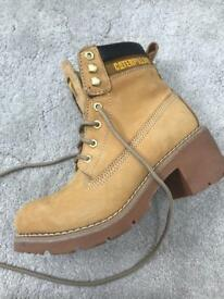 Caterpillar Boots with Heel