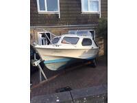 Shetland 535 great starter boat