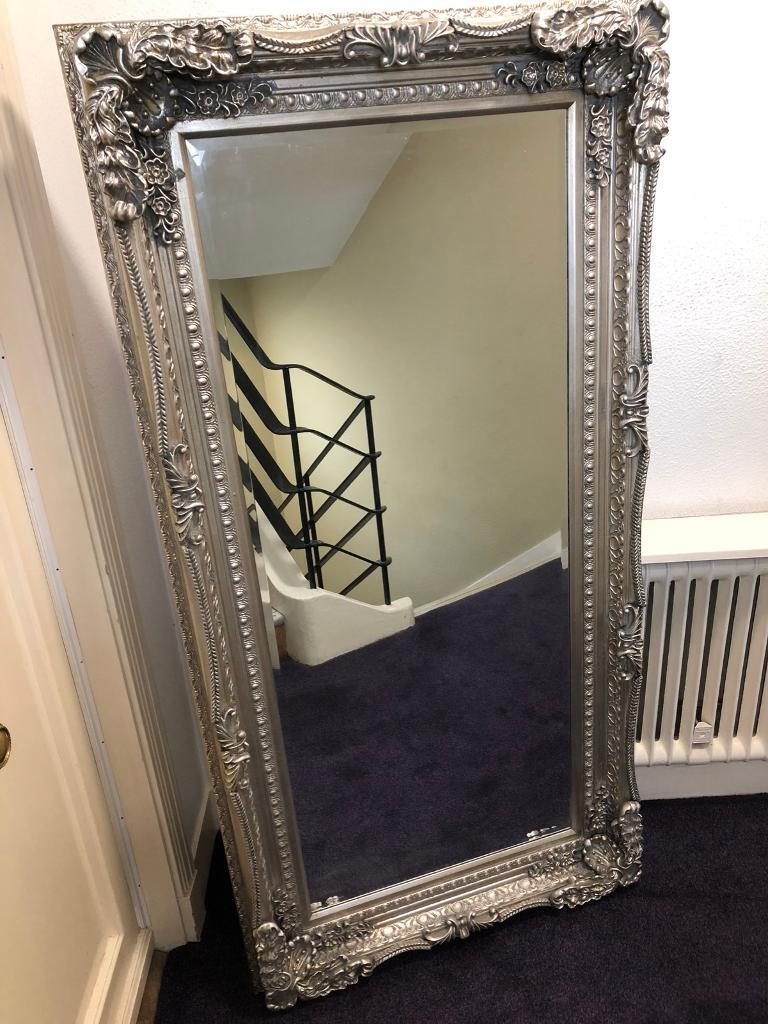 1a9d21c2b483 VERY LARGE ORNATE THICK FRAMED MIRROR. 175 Cm x 90 Cm ...