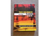 Town and Country Planning in the U.K. Book