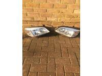 Vauxhall zafira head lights