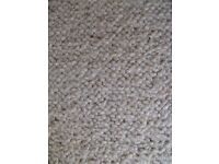 Free - piece of cream carpet - new ad due to time waster!