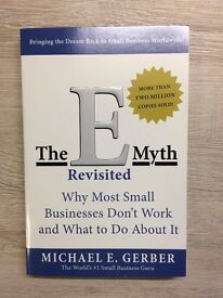 The E-myth Revisited: Why Most Small Businesses Don't Work (new, good condition, paperback)