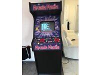 arcade mania retro 150 in 1 upright arcade machine