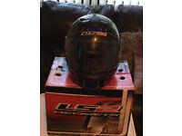 LS2 Motorcycle Helmet in excellent condition