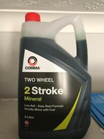 2 stroke motorbike oil 5 litres