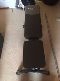 Bodymax Bench and various weights