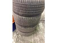 4x 225/40/18 midrange tyres (gti vxr type r turbo modified)