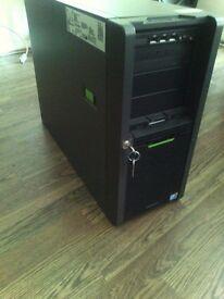 Fujitsu Primergy TX200 S6 Server / Intel® Xeon® Processor E5506 + 4GB DDR3