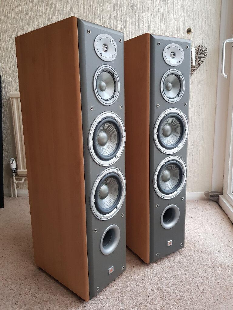 Goede jbl e80 nortridge floor standing loudspeakers mint condition XJ-44