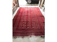 Large Genuine Used Persian Rug