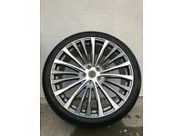 "4 x 22"" Range Rover Alloy Wheels"
