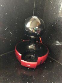 COFFEE MACHINE RED METAL BY KRUPS