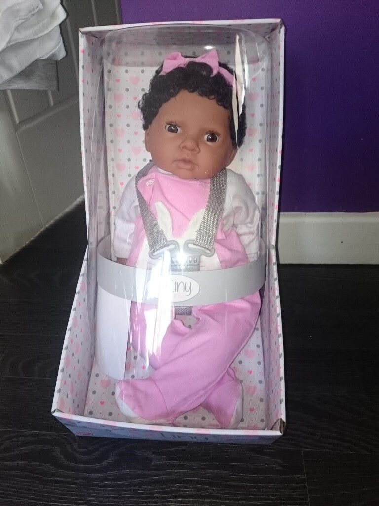 Tiny Treasures Doll with changing bag and accessories BNIB