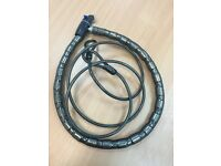 Halfords Bike lock - Armoured Cable Lock and flexi cable