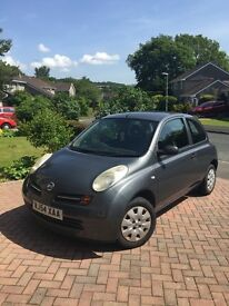 Nissan Micra * low milage * 12 month MOT * perfect first car * £2000 ono *