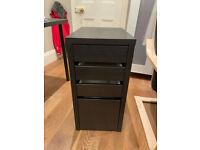Desk drawers, Ikea MICKE black, £30