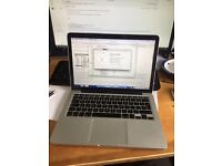 Macbook Pro Retina 13 8gb 2.4Ghz i5 256gb SSD