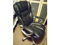 Black high back Managers/Directors Office Chair