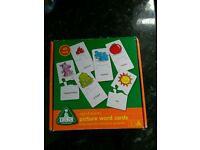 Picture word cards