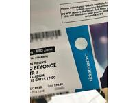 Beyonce & Jay-Z OTR (On The Run) II @ Manchester (13 June) - 2 x Tickets (STANDING GA WEST)