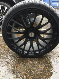 "22"" wheels @ Tyres"