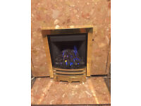 GAS FIRE REAL FLAME