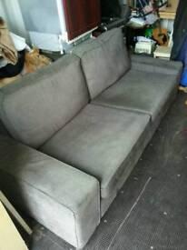 Sofa. 3 seater. Mocha £85 ono. Still available.