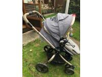 MotherCare ORB pram and pushchair.