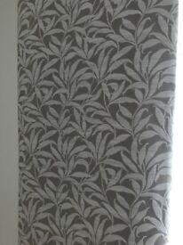 Pair flat curtain panels