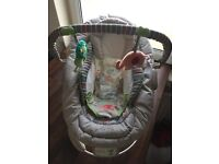 Comfort and Harmony Cozy Kingdom Baby Bouncer