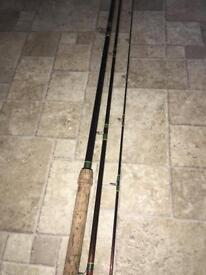 Daiwa carbon clubman Match gfm112 12'fishing rod