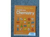 Chemistry essential math skills book