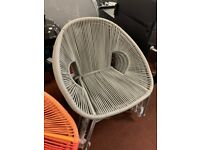 Nordic garden chair - Grey