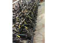 Life Fitness Lemond Pro Black Indoor Spin Bikes Commercial.