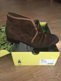 Fly London Men's Suede boots size 8UK/42 EUR
