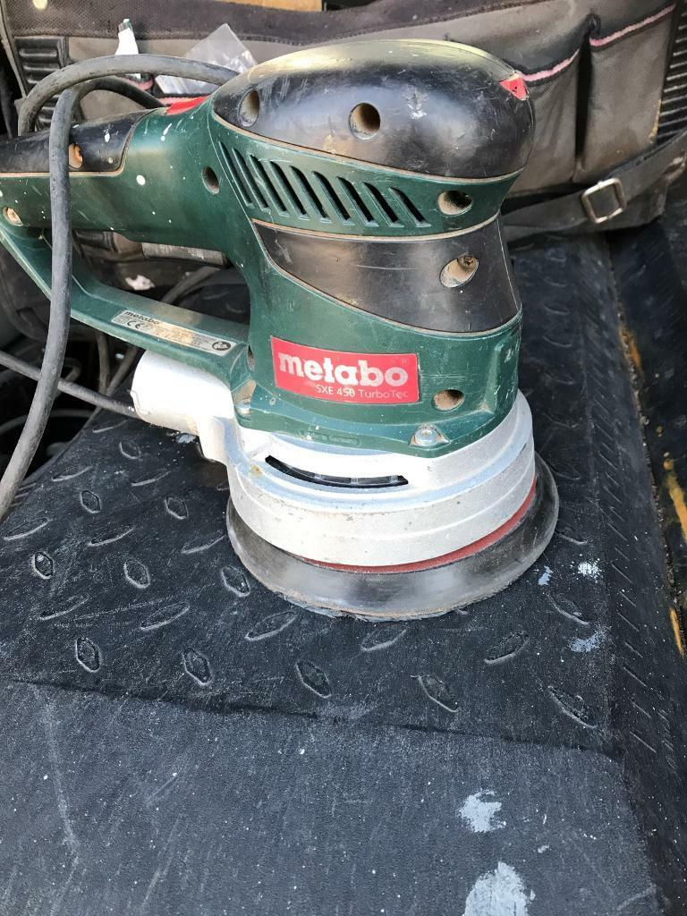 metabo sxe 450 turbo tec sander | in southsea, hampshire | gumtree