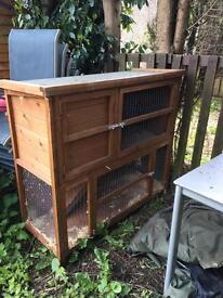 Rabbit 🐰 Hutch/ cage full set up