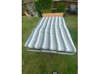 Folding bed double