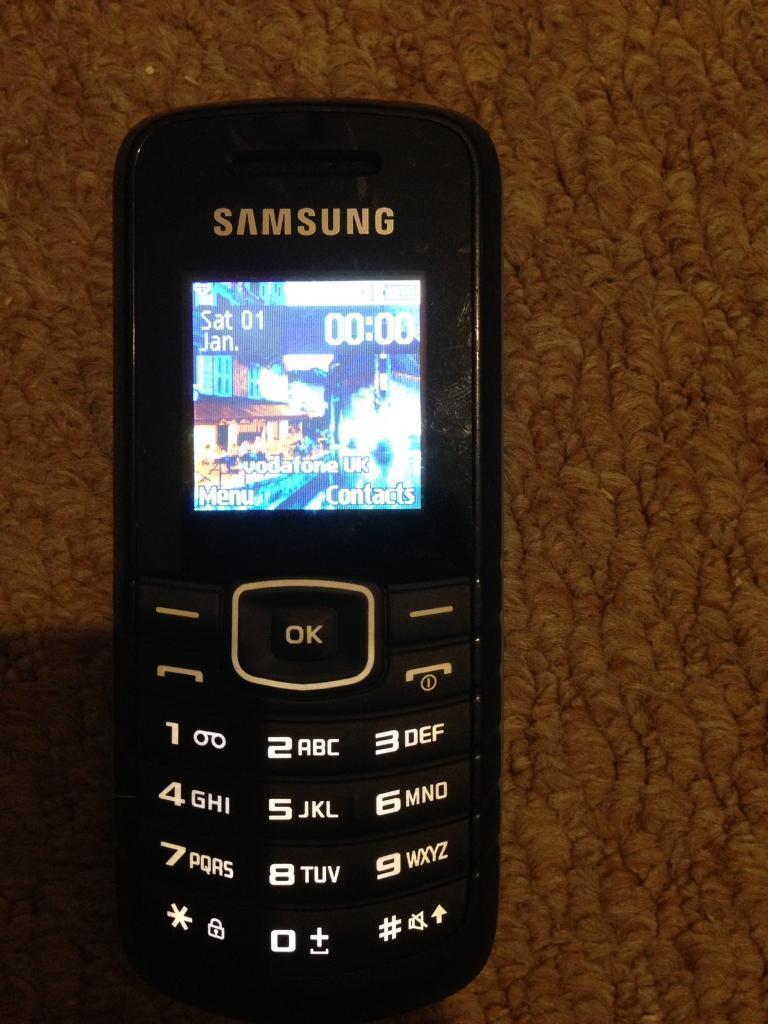 Samsung GT-E1080W unlocked