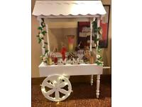 XO Candy Cart hire